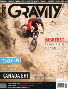 Cover - Gravity Mountainbike Magazon 25