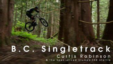 Curtis Robinson: Specialized Stumpjumper auf B.C. Singeltracks