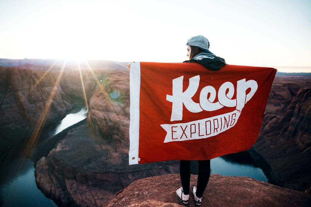 Keep Exploring - Justin Luebke via unsplash / CC0 1.0