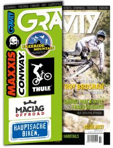 Gravity Magazin 37/2017 Titel