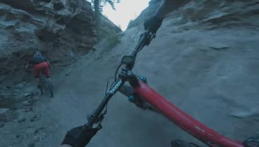 Screenshot from bcpov - Mountain Biking Burn and Windy Canyon - copyright / all rights: bcpov