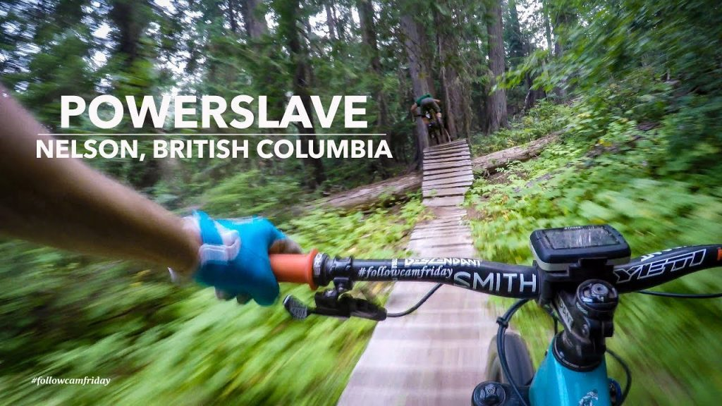 Nate Hills Powerslave Trail Nelson BC