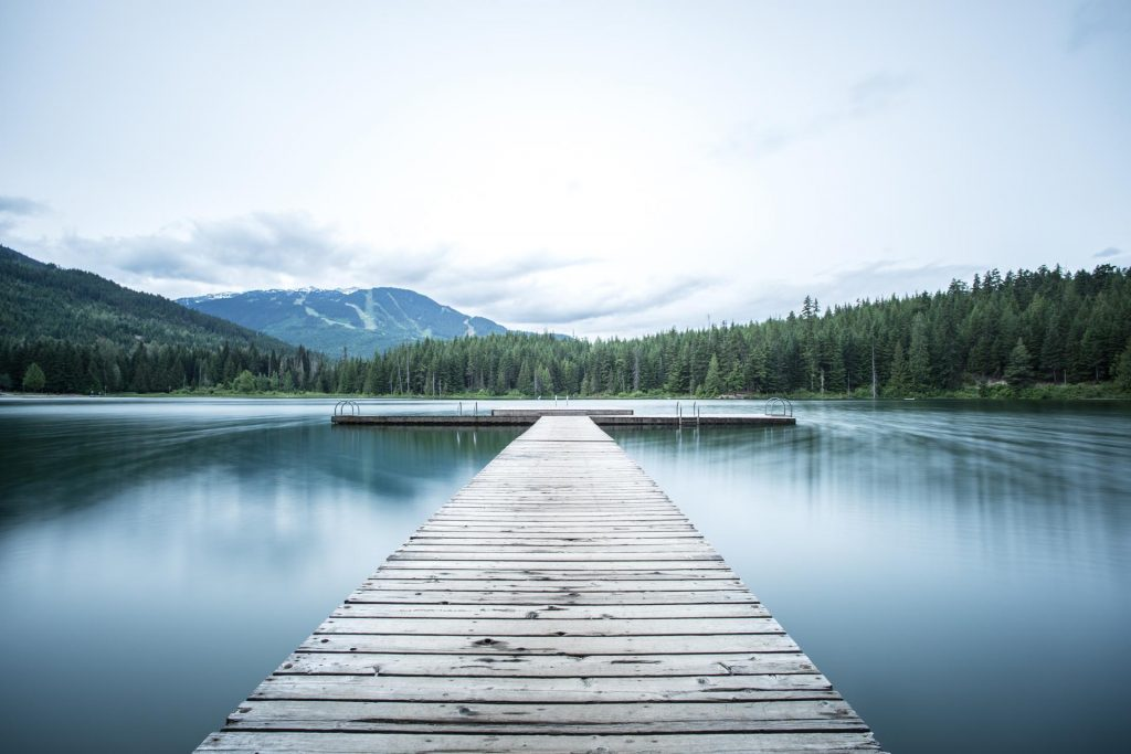 Whistler Lake - Photo by Tj Holowaychuk on Unsplash