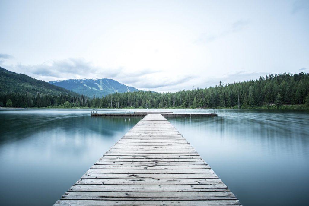 Whistler Lake - Photo by Tj Holowaychuk on Unsplash