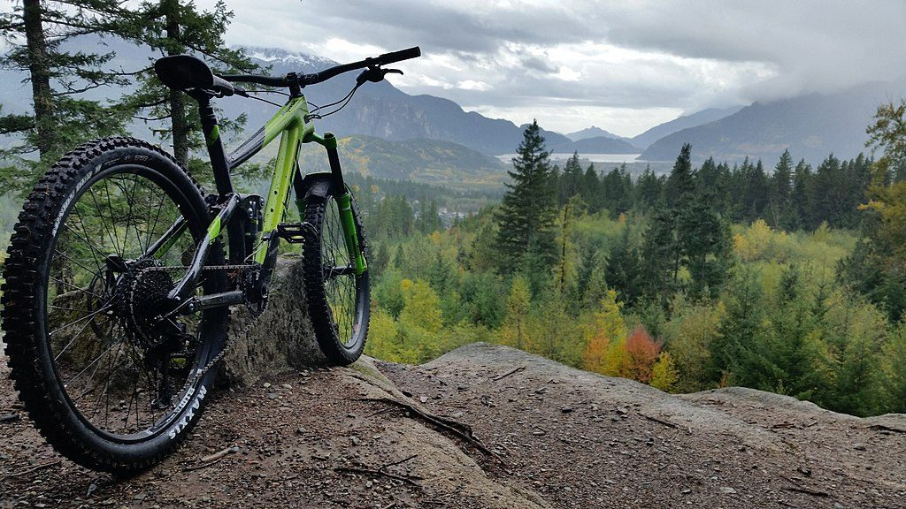 Mountainbike Norco Range in Kanada